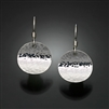 Sterling Silver Hammered Earrings (150H.s)
