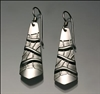 Sterling Silver Earrings (152B.s)