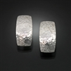 Sterling Silver Hammered Earrings (158H.s)