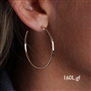 14k Gold Filled Hoop Earrings (160L.y)