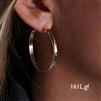 14k Gold Filled Hoop Earrings (161L.y)