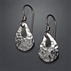 Sterling Silver Hammered Earrings (180.s)