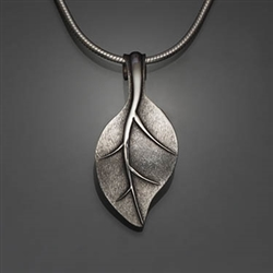 Sterling Silver Hammered Pendant (455L.s)