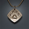 14k Gold Filled Paw Print Pendant (456P.y)