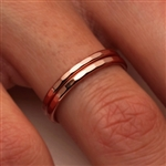 14K Rose Gold Filled Ring (551.r)