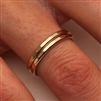 14K Yellow Gold Filled Ring (551.y)