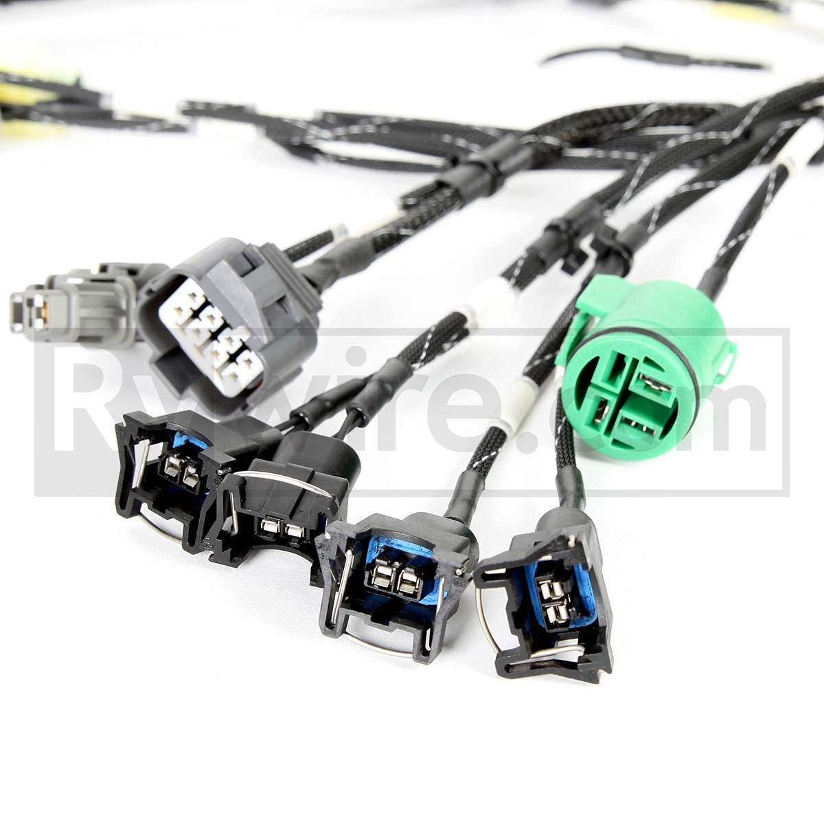 Budget D B Series Tucked Engine Harness Heater Control Wiring For 94 Accord Obd1