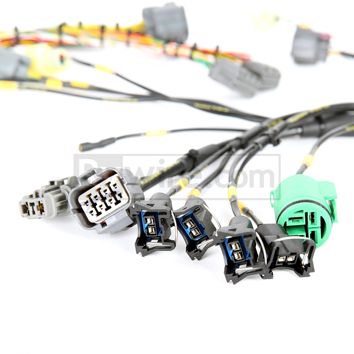 1992 Honda Civic Stereo Wiring Harness Obd Mil Spec Series Tucked Engine Rywire Com Rebel