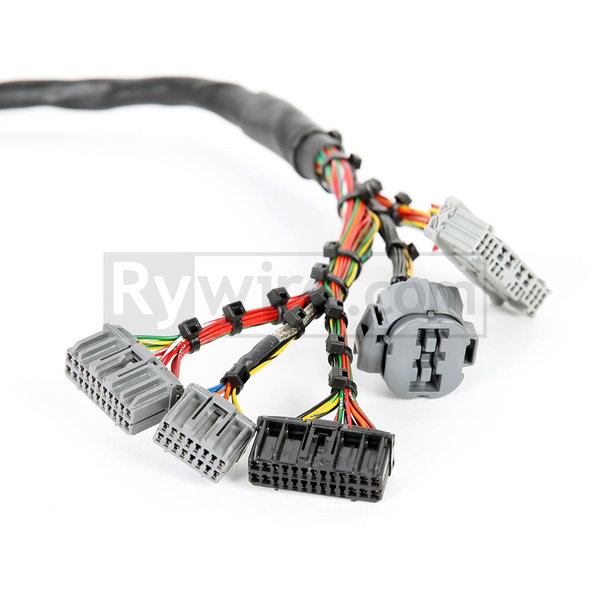 OBD2 Mil-Spec D & B-Series Tucked Engine harness on mr2 wiring harness, miata wiring harness, 300zx wiring harness, 280z wiring harness, 240sx wiring harness, crx wiring harness, s2000 wiring harness, civic wiring harness, 350z wiring harness,