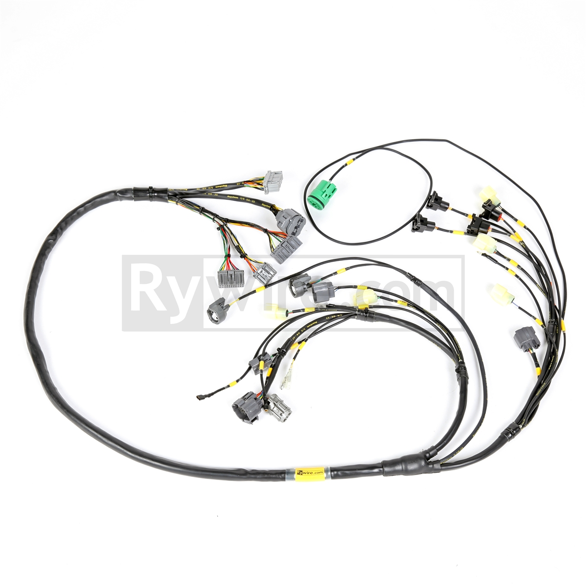 rywire com mil spec f series (f20b) & h series (h22) harness wire harness schematic h22a wiring harness #2
