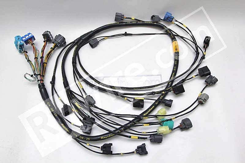 honda s2000 radio wiring diagram s2000 engine wiring rywire.com - mil-spec tucked s2000 harness