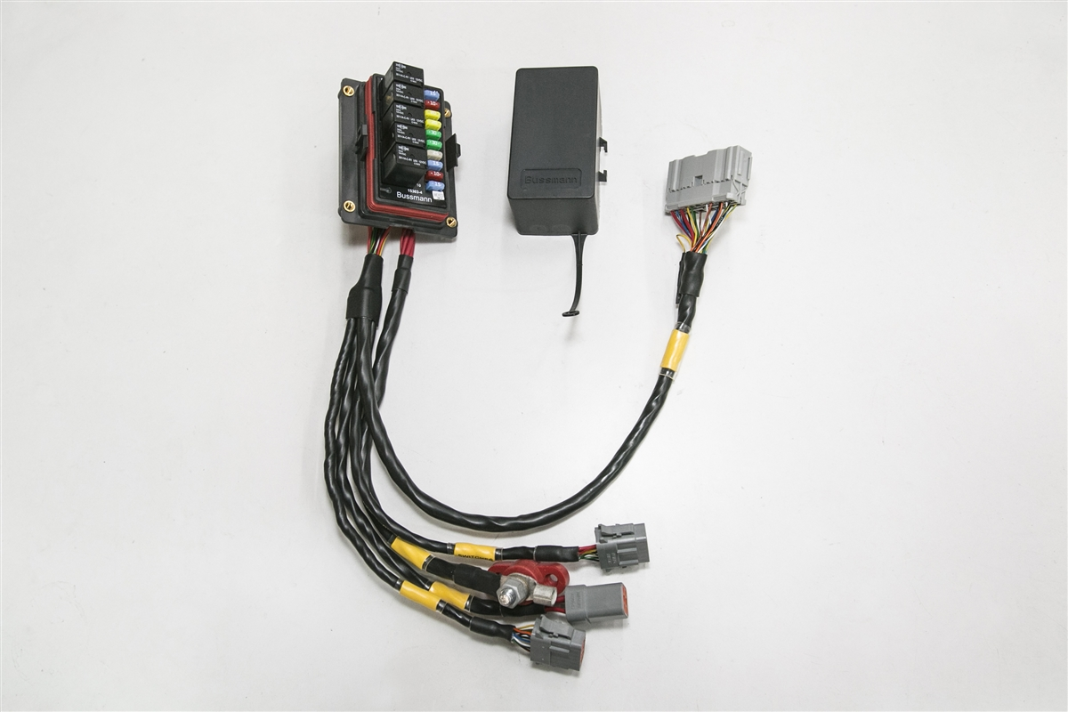 Mil-Spec Universal Race Fuse/Relay Box  Rywire