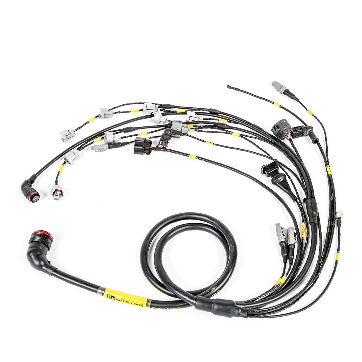 Wiring Harness For S10 Ls Engine Swap Custom Great Installation Of Diagram Rywire Com Mil Spec Rh 1995 Radio Ford