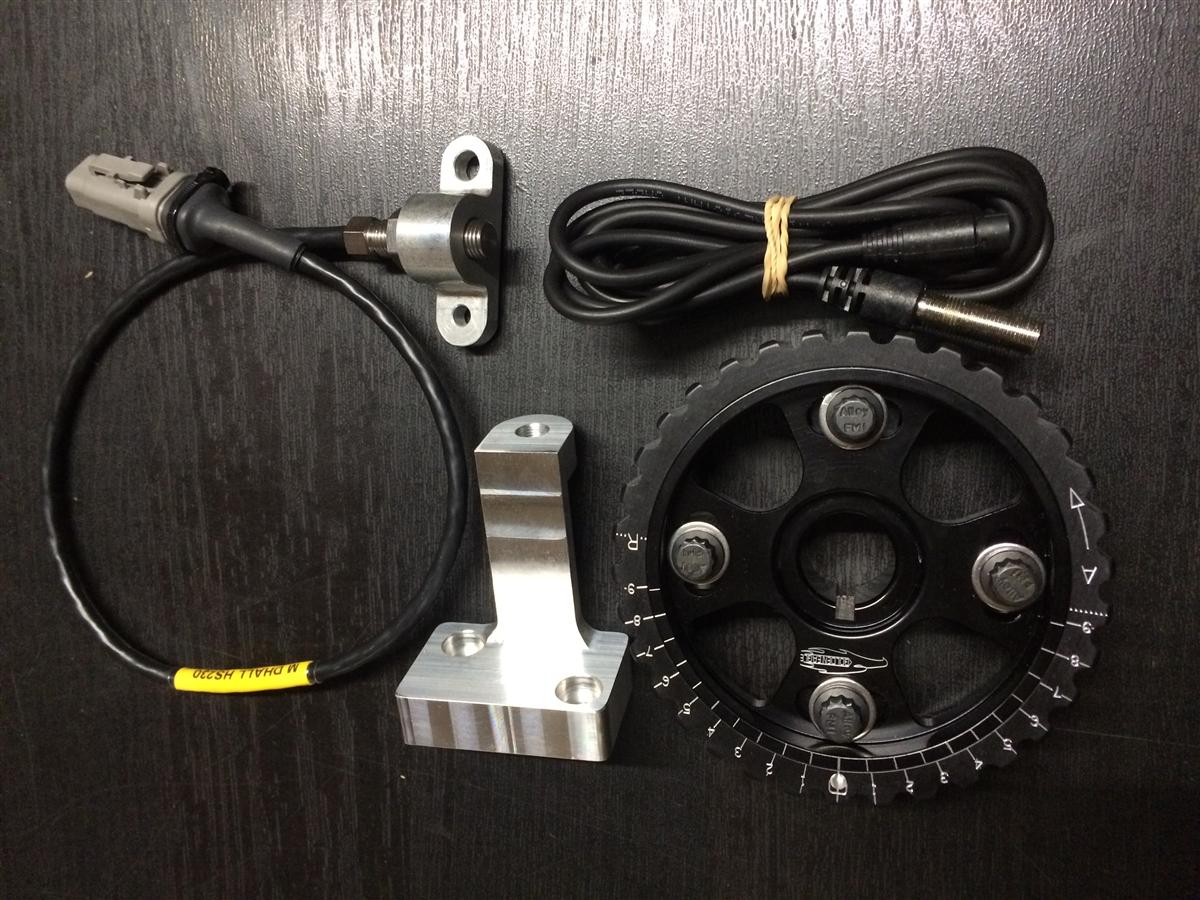 Rywire com - Cam and Crank Hall Effect Sensor Trigger kit with brackets