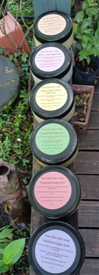 5 Sugar Scrubs (8oz)- $25