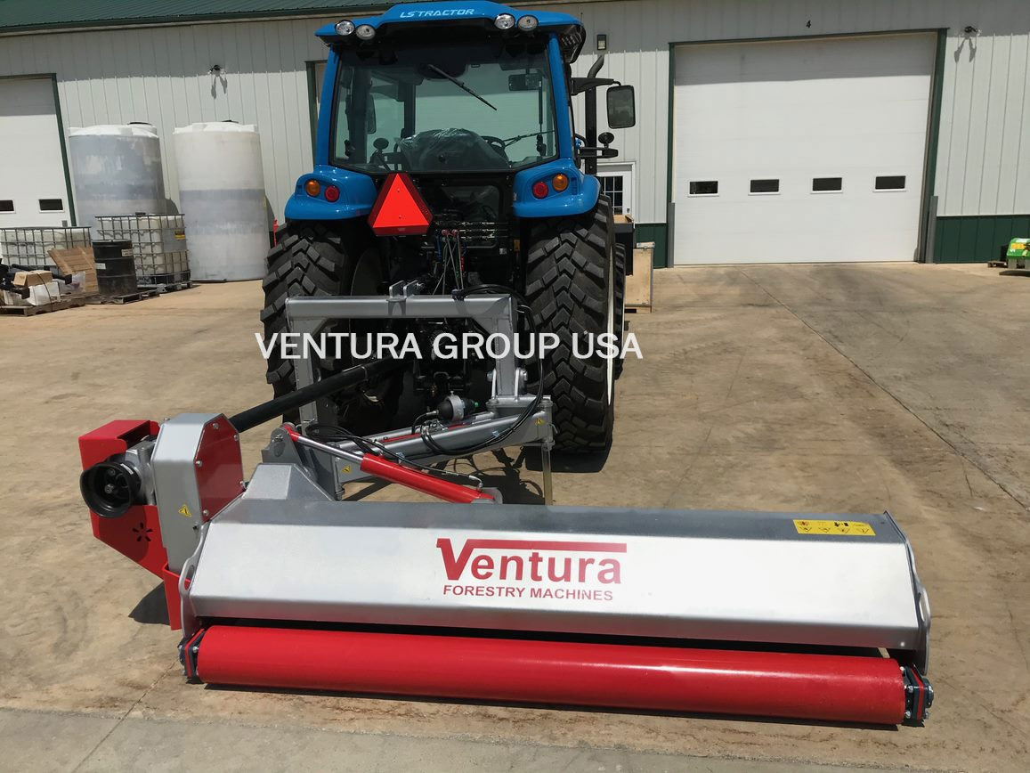 3-Point Offset Hydraulic Ditch Bank Flail Mower: Ventura 240, 95