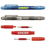 Four In One  Pen Style Style Screwdriver