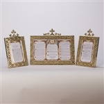 BRASS ALTAR CARDS