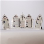 Silver plated mass card set