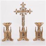 CCG-117B SMALL GOTHIC ALTAR CROSS