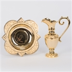 CCG-158G    GOLD EWER AND BASIN