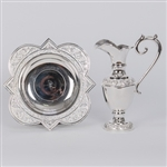 CCG-158S    SILVER EWER AND BASIN