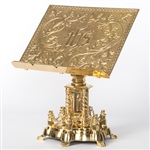 CCG-156SMB BRASS TABOR - MISSAL STAND
