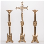 Traditional Ornate Gothic Altar Cross