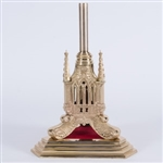 CCG-61BS - GOTHIC BASE STAND FOR PROCESSIONAL CROSS OR PROCESSIONAL CANDLES