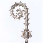 SILVER BISHOP CROSIER