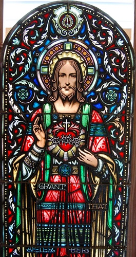 Antique Stained Glass Window Leaded Stained Glass