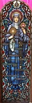 St. Margaret Mary Antique Stained Glass Window