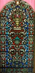 King Melchizedek  Antique Stained Glass Window