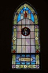 SG-460, Sacred Heart of Jesus - Traditional Antique Church Stained Glass Window