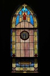 SG-461, Holy Mary - Traditional Antique Church Stained Glass Window