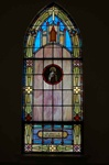 SG-464, St. Therese - Traditional Antique Church Stained Glass Window