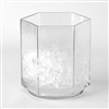 Ice Bucket - Glass Hexagon
