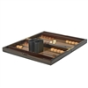 Macassar Ebony Backgammon Set