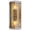 Modern Clayton Wall Sconce In Crystal