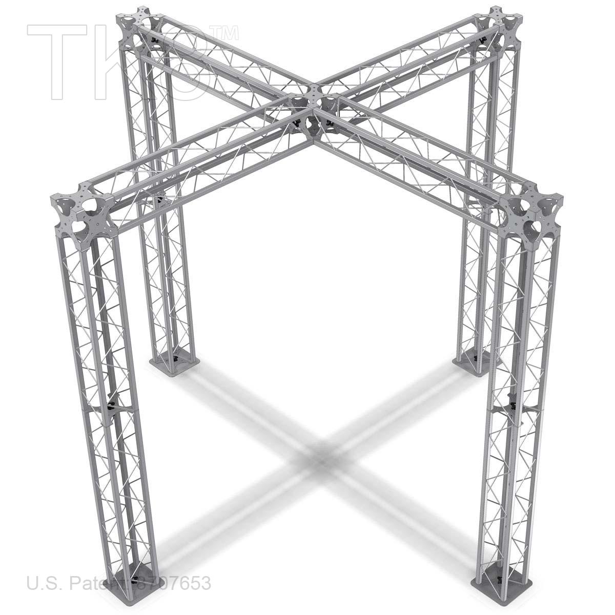 Aiden 10ft x 10ft tk8 aluminum box truss booth for Buy truss