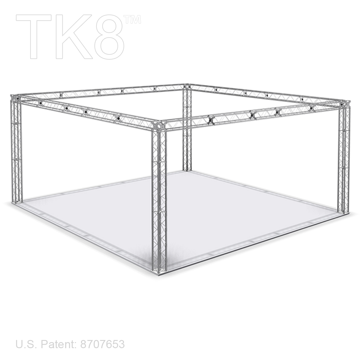 WILLIAM 10 - 20FT X 20FT TK8 ALUMINUM BOX TRUSS BOOTH