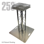 DJ TWO - 3FT HIGH TK8 ALUMINUM BOX TRUSS DJ STAND