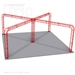 Sophie - 27 Ft X 27 Ft Triangle Truss Booth
