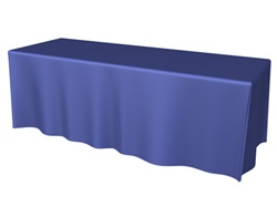8ft 4 Sided DRAPED Table Throw