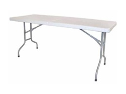6ft Showgoer Portable Folding Table