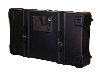 "39""W x 26""D x 8""H Shipping Case with Wheels"