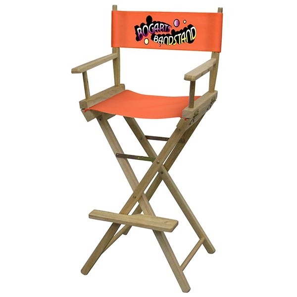 trade show furniture 46 h director chair bar height monster displays