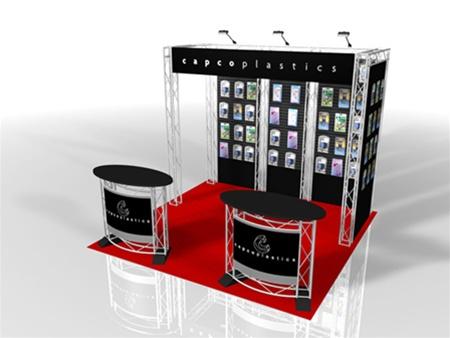 Truss Displays 10x10 Custom Monster Displays