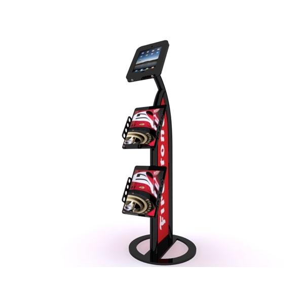 Expo Stands Kioska : Trade show kiosk: mod 1357 ipad kiosk monster displays