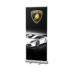 "33""W Economy Retractable Banner Kit"